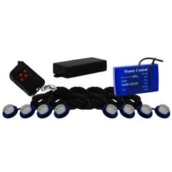 Tantrum LED Strobe And Rock Light Kit Blue