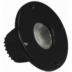 "2"" SOLSTICE SOLO BLACK 10-WATT LED POD 45°/15° ELLIPTICAL BEAM"