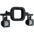 SOLSTICE SOLO TRAILER HITCH MOUNT WITH 2-SOLSTICE SOLO LIGHTS