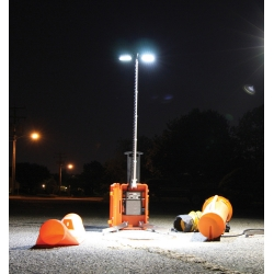 Incident Portable LED Light Tower Response Case - 4 Solo Lights