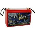 115 AMP HOUR VPOWER AGM SEALED 12 VOLT POWER CELL BATTERY