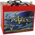 55 AMP HOUR VPOWER AGM SEALED 12 VOLT POWER CELL BATTERY