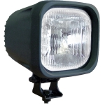 "4"" SQUARE BLACK 35 WATT HID EURO BEAM LAMP"