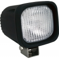 "4"" SQUARE BLACK 35 WATT HID HORIZONTAL-FLOOD BEAM LAMP"