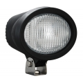 "4"" X 6"" OVAL BLACK 35 WATT HID FLOOD BEAM LAMP"