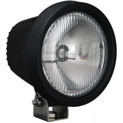 """5.5"""" ROUND BLACK 35 WATT HID EURO BEAM WORK LAMP"""