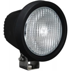 "5.5"" ROUND BLACK 35 WATT HID FLOOD BEAM LAMP"