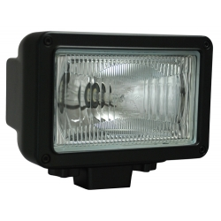 "5"" X 7"" BLACK 50 WATT HID EURO BEAM LAMP"