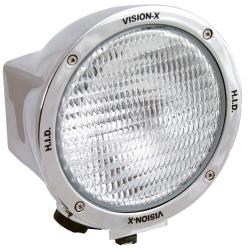 "6.7"" ROUND CHROME 100 WATT TUNGSTEN FLOOD BEAM LAMP"