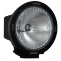"6.7"" ROUND BLACK 50 WATT HID EURO BEAM LAMP"