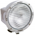 "6.7"" ROUND CHROME 50 WATT HID FLOOD BEAM LAMP"
