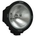 "6.7"" ROUND BLACK 50 WATT HID COMPOSITE EURO BEAM LAMP, Light Weight Race Light"