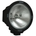 "6.7"" ROUND BLACK 70 WATT HID COMPOSITE EURO BEAM LAMP"