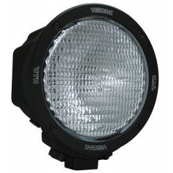 "6.7"" ROUND BLACK 70 WATT HID COMPOSITE FLOOD BEAM LAMP"