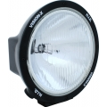 "8.7"" ROUND BLACK 50 WATT HID EURO BEAM LAMP"