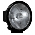 "8.7"" ROUND BLACK 50 WATT HID SPOT BEAM LAMP"