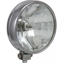 "6"" CHROME 100 WATT HALOGEN OFF ROAD LAMP EURO BEAM LAMP"