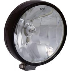 "6"" BLACK 100 WATT HALOGEN OFF ROAD LAMP EURO BEAM LAMP"