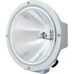 """6.7"""" CHROME HALOGEN 100/80 WATT HI-LO BEAM LAMP"""