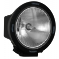 "6.7"" ROUND BLACK 100 WATT TUNGSTEN EURO BEAM LAMP"