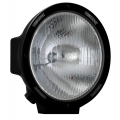 "8.7"" ROUND BLACK 100 WATT TUNGSTEN EURO BEAM LAMP"
