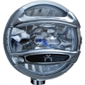 "8"" CHROME 100 WATT HALOGEN SPOT BEAM LAMP"