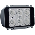 LED REPLACEMENT MODULE For Go Light Radio Ray, SIX 10-WATT LEDS 20 DEGREE NARROW BEAM