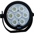 "6"" ROUND SOLSTICE PRIME BLACK SEVEN 10-WATT LED 20 DEGREE NARROW BEAM"