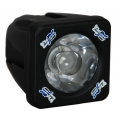 2&quot; SOLSTICE SOLO BLACK 10-WATT LED POD 15 MEDIUM BEAM