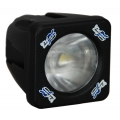 2&quot; SOLSTICE SOLO BLACK 10-WATT LED POD 45/15 ELLIPTICAL BEAM