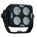 "4"" SQUARE SOLSTICE BLACK FOUR 10-WATT LED 35° WIDE BEAM LAMP"