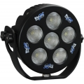 6&quot; ROUND SOLSTICE BLACK SIX 10-WATT LED 35 WIDE BEAM LAMP
