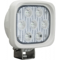 "4"" SQUARE UTILITY MARKET WHITE WORK LIGHT SEVEN 3-WATT LED'S 10 DEGREE NARROW BEAM"