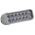 "8"" XMITTER LED BAR WHITE TWELVE 3-WATT LED'S EURO BEAM"