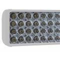 "12"" XMITTER DOUBLE STACK BAR WHITE 40 3-WATT LED'S EURO"