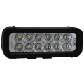 "8"" XMITTER ELITE LED BAR BLACK TWELVE 3-WATT LED'S EURO BEAM"