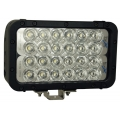 "8"" XMITTER ELITE DOUBLE LED BAR BLACK 24 3-WATT LED'S EURO"