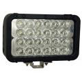 "8"" XMITTER ELITE DOUBLE LED BAR BLACK 24 3-WATT LED'S EURO"