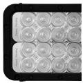 "52"" XMITTER ELITE DOUBLE LED BAR BLACK 200 3-WATT LED'S EURO"