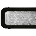 """52"""" XMITTER ELITE LED BAR BLACK 100 3-WATT LED'S EURO BEAM"""