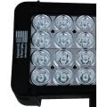 "18"" XMITTER PRIME DOUBLE STACK LED BAR BLACK SIXTY 3-WATT LED'S 10 DEGREE NARROW BEAM"